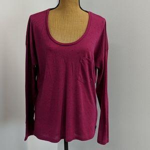 Lone sleeve pink shirt
